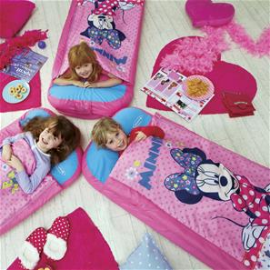 Minnie Mouse Junior ReadyBed Gæsteseng m/Sovepose-8