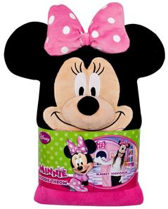 Minnie Mouse Luksus Poncho med hætte-2