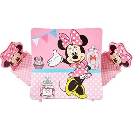 Minnie Mouse pink bord med stole-5