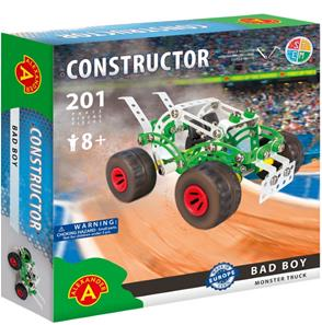 Monster Truck Metal Konstruktionsbyggesæt - Bad Boy