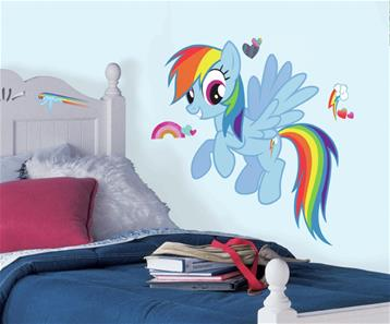 My Little Pony RAINBOW DASH Gigant Wallsticker