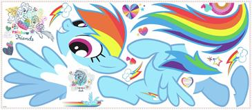 My Little Pony RAINBOW DASH Gigant Wallsticker-2