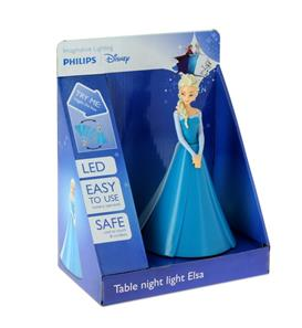 Phillips Disney Frost Elsa 3D Bordlampe