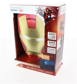 Phillips Marvel Ironman 3D Lampe-2