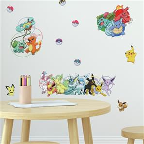 Pokemon Favorit Wallstickers