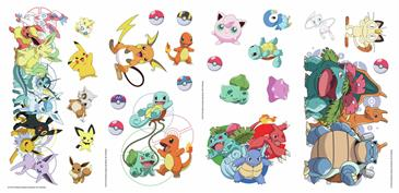 Pokemon Favorit Wallstickers-3