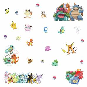 Pokemon Favorit Wallstickers-4