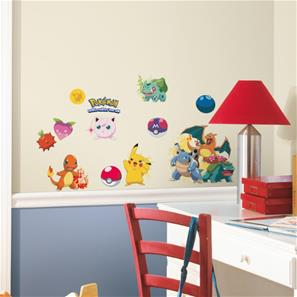 Pokemon Iconic Wallstickers
