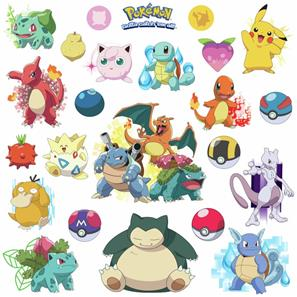 Pokemon Iconic Wallstickers-2