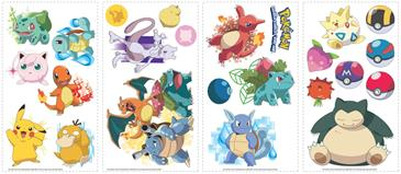 Pokemon Iconic Wallstickers-3