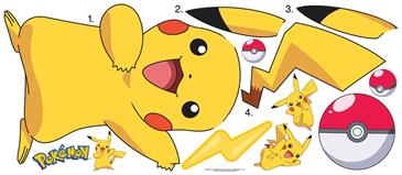 Pokemon PIKACHU Wallstickers-3