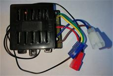 RC 27Mhz Kontrol Box 12v (sort)