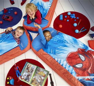 Spiderman Junior ReadyBed Gæsteseng m/Sovepose-8