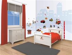 Brandmand Sam Wallstickers