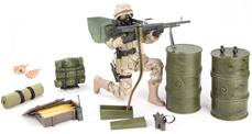 Delta Force Army Action Figur Delux Pakke 30,5cm