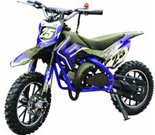 Dirt Bike 49cc Mini Crosser Model 709, Blå
