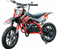 Dirt Bike 49cc Mini Crosser Model 709, Rød