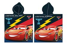 Disney Biler / Cars Poncho - 100 procent bomuld