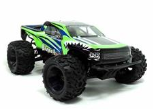 HSP 1:18 PRO Brushless 4WD EP Monster Truck 2.4G, Grøn