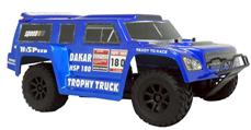 HSP 1:18 PRO Brushless 4WD Trophy Truck 2.4G, Blå