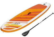 Hydro-Force SUP Paddle Board 2.74m x 76cm x 12cm Aqua Journey Sæt