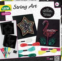 Lena String Art Flamingo og Star