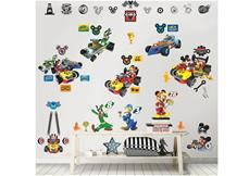 Mickey Mouse Roadster Racer Wallstickers