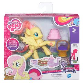 My Little Pony Equestria ''Poseable'' Fluttershy Picnic-2
