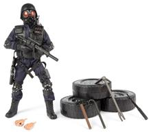 S.W.A.T. Pick-up Man Politi Action Figur Delux pakke 30,5cm