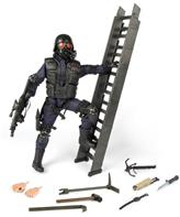 S.W.A.T. Rear Guard Politi Action Figur Delux pakke 30,5cm