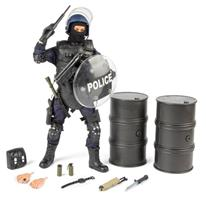 S.W.A.T. Leder / Point-Man Politi Action Figur Delux pakke 30,5cm