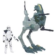 Star Wars Assault Walker fartøj og Stormtrooper figur