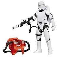 Star Wars First Order Flametrooper figur Armour Pack 9,5cm