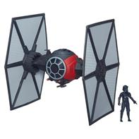 Star Wars First Order Special Forces TIE Fighter inkl. figther Pilot 9,5cm
