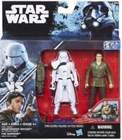 Star Wars R1 Twin Snowtrooper & Poe Dameron figurer 9,5cm