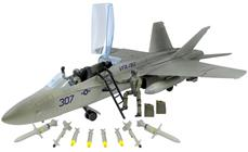 World Peacekeepers 1:18 Boeing F/A-18 Hornet Jagerfly inkl. 2 Piloter