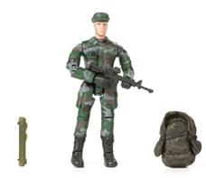 World Peacekeepers 1:18 Militær actionfigur Singepack 1A