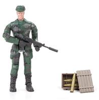 World Peacekeepers 1:18 Militær actionfigur Singepack 1B