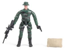 World Peacekeepers 1:18 Militær actionfigur Singepack 1C