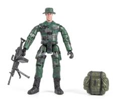 World Peacekeepers 1:18 Militær actionfigur Singepack 1F