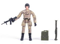 World Peacekeepers 1:18 Militær actionfigur Singepack 2B