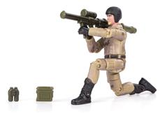 World Peacekeepers 1:18 Militær actionfigur Singepack 2F