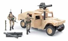 World Peacekeepers 1:18 Militær Humvee / Hummer Model A