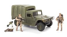 World Peacekeepers 1:18 Militær Humvee / Hummer Model D