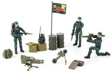 World Peacekeepers 1:18 Militær Ranger pakke m/3 actionfigurer